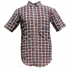 Koszula męska w kratkę z kr...
