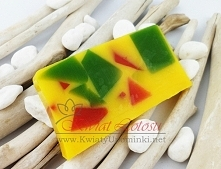Naturalne mydło mango dostępne link w komentarzu