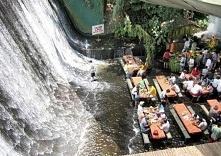 Waterfalls restaurant in the Philippines