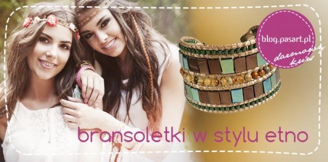 Jak zrobić modną bransoletkę w stylu etno? Darmowy kurs DIY!