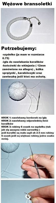 Wężowe bransoletki