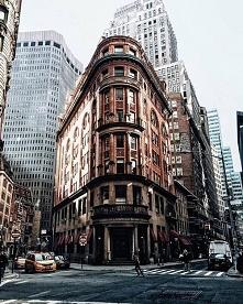 """Flatiron Building, Nowy Jork, USA. """"Budynek Żelazko"""""""