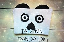 Piórnik panda DIY