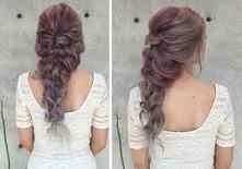 mermaid curly hairstyle