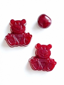 słodkie, domowe żelki wiśniowe bez cukru.przepis po kliknięciu w zdjęcie.