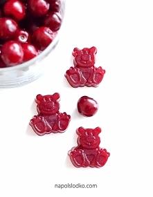 słodkie, domowe żelki bez cukru. na agarze. link do przepisu w komentarzu