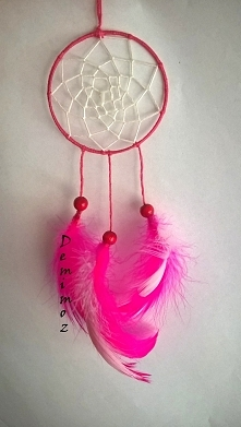 Łapacz snów - wersja różowa...