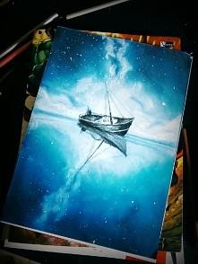 Rysunek mojej znajomej wykonany pastelami. Cudowny, prawda? Zapraszam do komentowania i odwiedzania jej instagrama:  marii_blanco_art