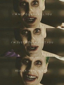 Jared Leto as Joker Suicide Squad <3