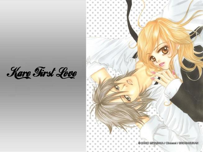 Manga: Kare First Love OPIS: Czy nastolatka może nie wiedzieć nic o miłości? Otóż tak. Kare Karino nigdy nie była zakochana i nie zna tego uczucia. Jest typową szarą myszką, nie ma przyjaciół, a jeżeli już, to fałszywych. Jednak wszystko zmienia się, gdy pewnego dnia jadąc w autobusie, spotyka grupkę chłopaków, którzy początkowo się z niej naśmiewają. Jeden z nich, Kiriya, zaczyna się nią interesować, ale dziewczyna przestraszona ucieka, gubiąc przy tym książkę. Jak wielkie jest zaskoczenie Karino, gdy po południu wychodząc ze szkoły, widzi Kiriyę czekającego na nią, by oddać zgubę. A co będzie dalej? Przekonajcie się sami... [link to mangi jakk zawsze w kom]