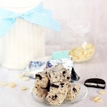 Mleczny blok z Oreo i białą czekoladą
