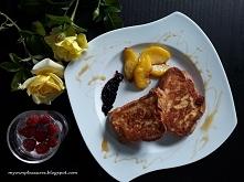 Francuskie tosty z chałki! Pyszne! myownpleasures.blogspot.com