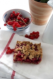 Zdrowe ciasto z porzeczkami :D Przepis klik w zdjęcie