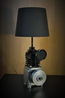 Motolampka wykonana w manufakturze Galeria Przetwórnia. Dostępna w sprzedaży :)