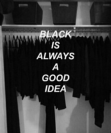 czerń♥