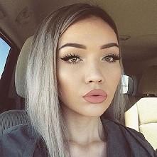 piękny makijaż *-* usta... kreska ... wszystko :)