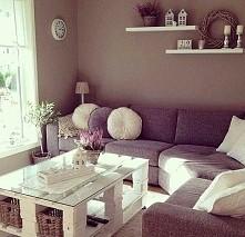 salon, stół z palet