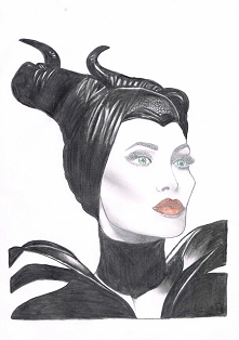 My Maleficent Drawing
