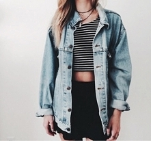 jeans jacket girl