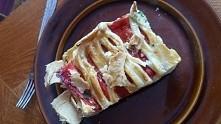 Pyszna tarta z papryką, ricottą i ziołami zapiekana w cieście francuskim ❤❤