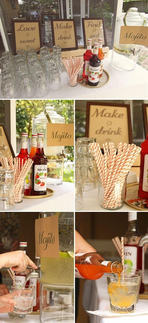 DRINK BAR - alternatywa dla wiejskiego stołu!