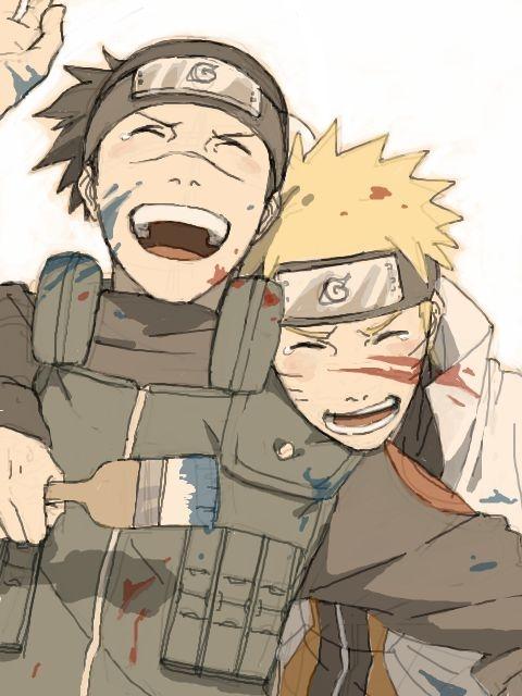 Naruto i Iruka