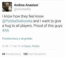 Andrea Anastasi nadal Biało...