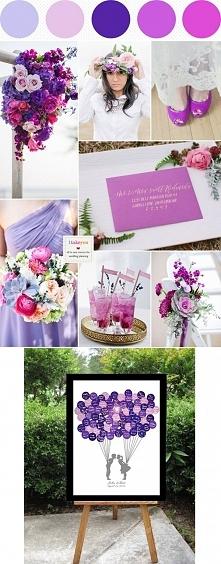 Odcienie fioletu i różu