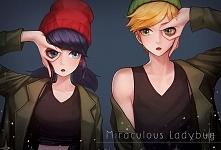 Adrien i Marinette