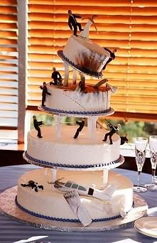 najfajniejszy tort ślubny ever!!!