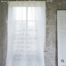 dekoracyjne zasłony, zasłony francuskie, zasłony haftowane, ozdoby okienne