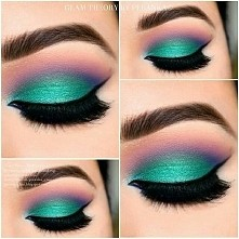 Super makijaż :)  kolory pięknie dobrane :))