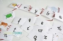 Zabawa połączona z nauką, czyli literkowe przeplatanki