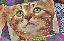 Przeurocza kosmetyczka z kotkiem z Homesay :)