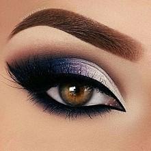 piękny makijaż oka<3