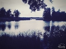 Jezioro w Majdach koło Olsztyna :)