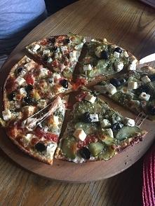 wegetariańska pizza