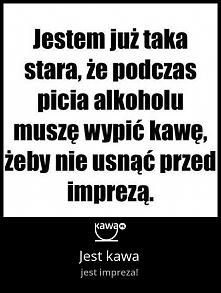 Jest kawa, jest impreza! Więcej memów na kawa.pl :)