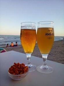 Plaza i zimne piwo!