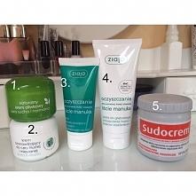 Kosmetyki których używam do twarzy :)  1. Ziaja, naturalny krem oliwkowy (używam go na noc, gdy mam suchą skórę, jest fajnie tłusty)  2. krem nawilżający do cery tłustej i miesz...