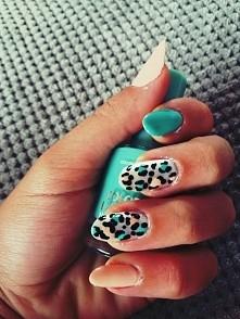 Panterkowe paznokcie :)