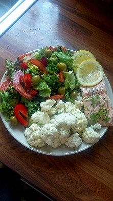 22.08 Obiad - Łosoś organic...