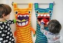 Kosz na brudne dziecięce ubranka:)