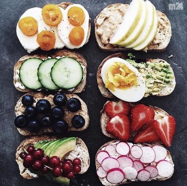 śniadaniowa inspiracja ;D