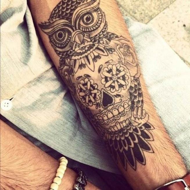 Tatuaż Sowa Na Tattoos Zszywkapl