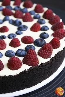 Sernik z białą czekoladą bez pieczenia i żelatyny-przepis po kliknięciu w zdjęcie