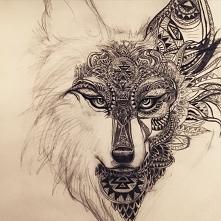 mandala wolf
