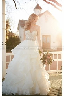 Martina Liana Beaded Corset Princess Skirt Wedding Separates Style Cody + Skylar