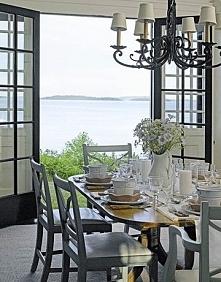 dekoracja stołu w jadalni, ...