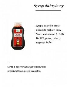 Syrop daktylowy!